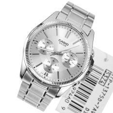 Đồng hồ nam dây thép không gỉ Casio MTP-1375D-7AVDF