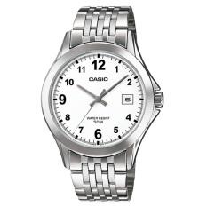 Đồng hồ nam dây thép không gỉ Casio MTP-1380D-7BVDF (Bạc)