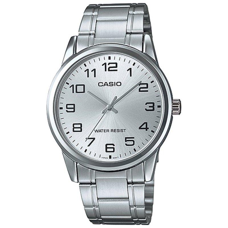 Nơi bán Đồng hồ nam dây thép không gỉ Casio MTP-V001D-7BUDF (Bạc)