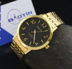 Đồng hồ nam dây thép không gỉ Halei chống nước HA484