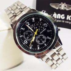 Đồng hồ nam dây thép không gỉ NARY 6033D