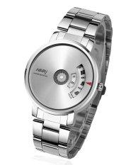 Đồng hồ nam dây thép không gỉ Nary NR669 (Mặt trắng)