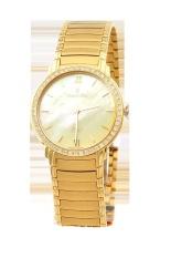 Đồng hồ nam dây thép không gỉ Romanson EM1138QMGGD (Vàng)