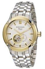 Đồng hồ nam dây thép không gỉ Romanson PA2609RMCWH (Bạc)