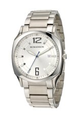 Đồng hồ nam dây thép không gỉ Romanson TM1271MWWH (Bạc)