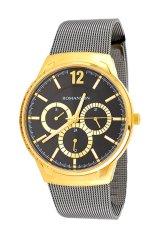 Đồng hồ nam dây thép không gỉ Romanson TM4209FMBPROWN (Xám)