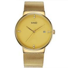 Đồng hồ nam dây thép không gỉ Sino Japan SI6069