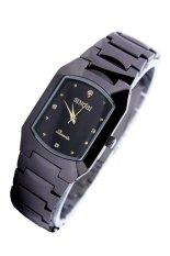 Đồng hồ nam dây thép không gỉ Sinobi 3582 (Đen)