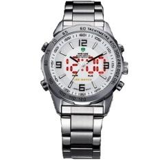 Đồng hồ nam dây thép không gỉ WEIDE WE001 (Trắng)