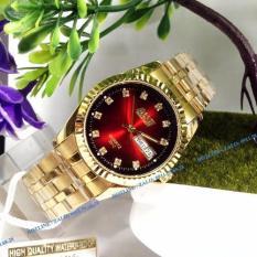 Đồng hồ nam dây thép mặt phong thủy BOSCK 3012