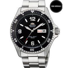 Bảng Giá Đồng hồ nam dây thép Orient Mako II Black FAA02001B9