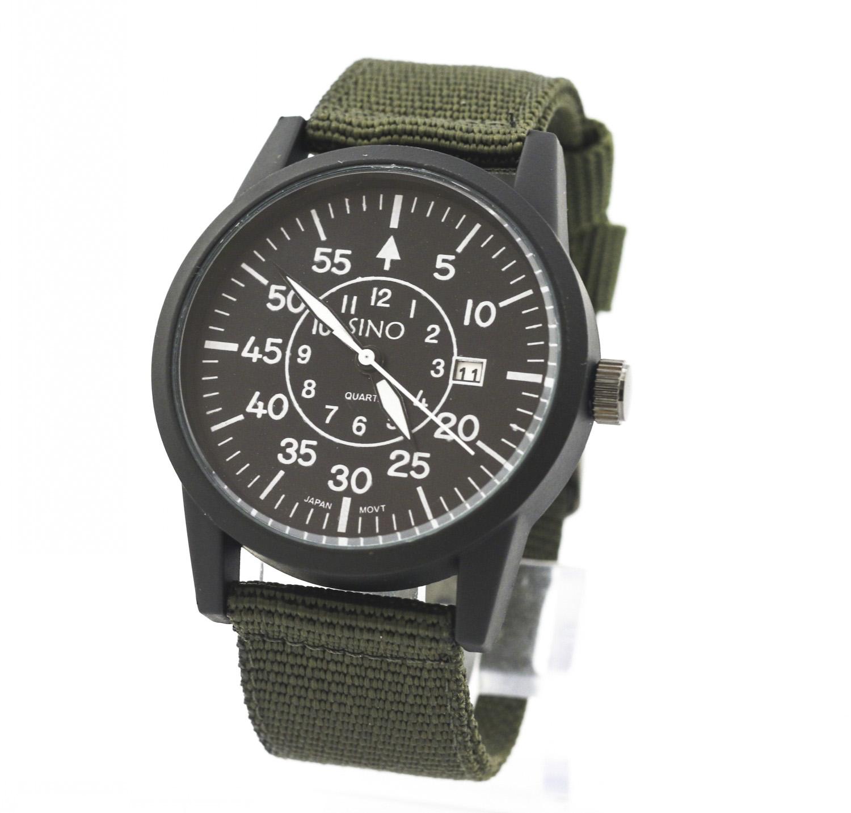 Chi tiết sản phẩm Đồng hồ nam dây vải dù SINO SLSN1689