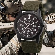 Đồng hồ nam dây vải dù xanh lính cao cấp SINO JAPAN MOVT SN001 (Xanh rêu).