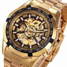 Đồng hồ nam Forsining TM340 automatic lộ máy (Full Gold)