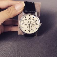Nơi mua Đồng hồ nam giá rẻ TimeZone Geneva cá tính (Trắng)