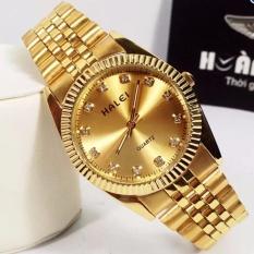 Bảng Báo Giá Đồng hồ nam Halei 115 màu vàng chống nước