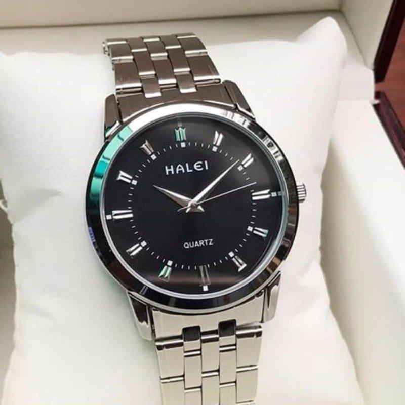 Nơi bán Đồng hồ nam Halei HL168 V6 mặt màu đen chống nước