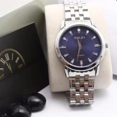 Đồng hồ nam Halei HL169 V6 mặt màu xanh chống nước