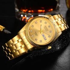 Đồng hồ nam mạ vàng Bosck Japan Movt Luxury – Vàng