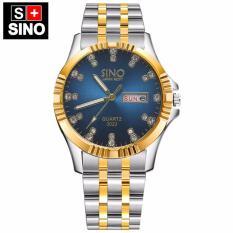 Đồng hồ nam Sino Japan Movt SI3022 – xanh luxury- Công nghệ mạ chân không