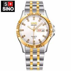 Đồng hồ nam Sino Japan Movt white Luxury- mạ chân không STT-S3022