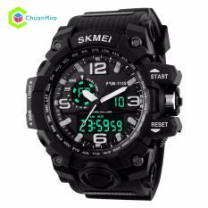 Đồng hồ Nam Skmei 1155 Dual Time Kim Điện Tử - Mã: DHA440