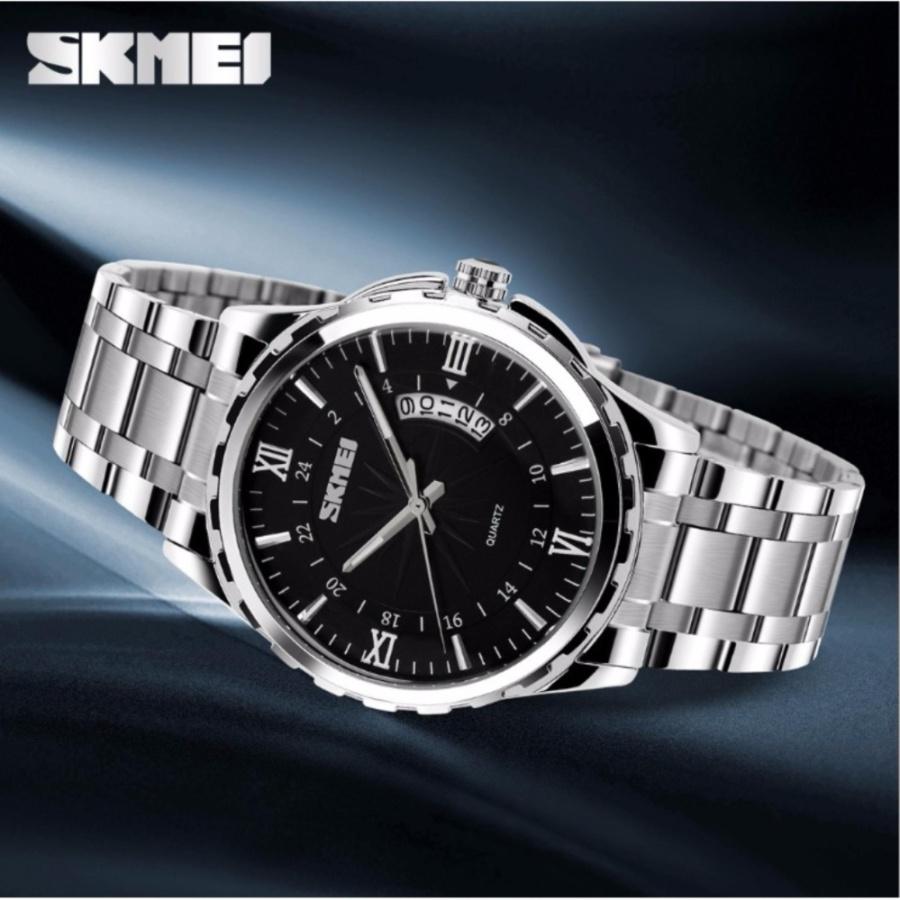 Đồng hồ nam skmei thời trang không thấm nước 9069 mặt đen