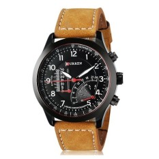 Đồng hồ nam thể thao dây da Curren 8152 (Đen)