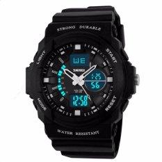 Đồng hồ nam thể thao Skmei 0955 trắng đen