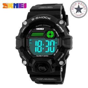Đồng hồ nam thể thao SKMEI CH253 (Đen)