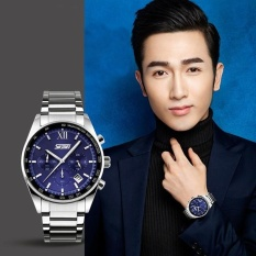 Đồng hồ nam thời trang chống nước cao cấp Skmei 9096 ( Xanh ) 003