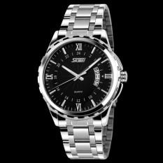 Đồng hồ nam thời trang chống nước Skmei  ( Đen ) 01.