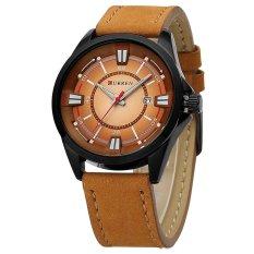 Đồng hồ nam thương hiệu CURREN dây da cao cấp DHCU85 (Nâu)