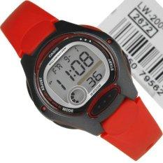 Đồng hồ nữ dây cao su Casio LW-200-4AVDF