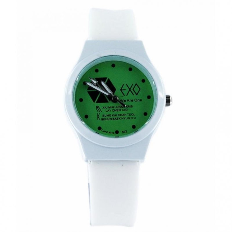 Nơi bán Đồng hồ nữ dây cao su nuc3256 (Trắng)