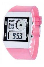 Đồng hồ nữ dây cao su Skmei 0841DG1 (Hồng)