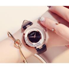 Đồng hồ nữ dây da cao cấp Guou 8039