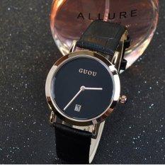 Đồng hồ nữ dây da cao cấp GUOU 8127