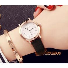 Đồng hồ nữ dây da cao cấp GUOU 8128