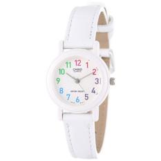 Đồng hồ nữ dây da Casio LQ-139L-7BDF(Trắng)