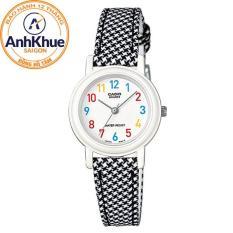 Đồng hồ nữ dây da Casio LQ-139LB-1BDF