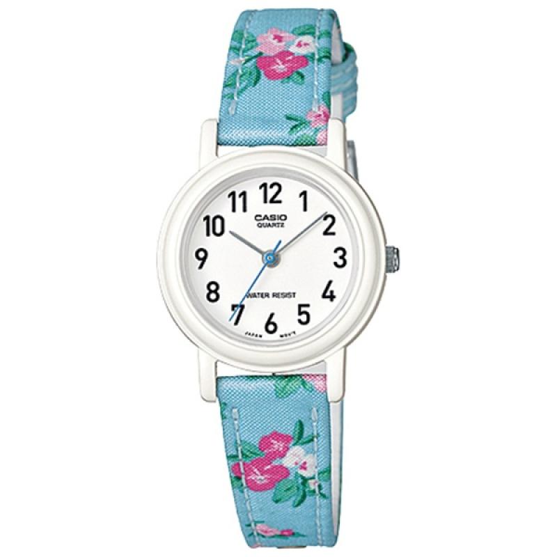 Nơi bán Đồng hồ nữ dây da Casio LQ-139LB-2B2DF (Xanh bông)