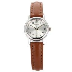 Đồng hồ nữ dây da CASIO LTP-1095E-7BDF (Nâu)