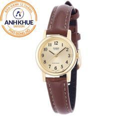 Đồng hồ nữ dây da Casio Anh Khuê LTP-1095Q-9B1DF