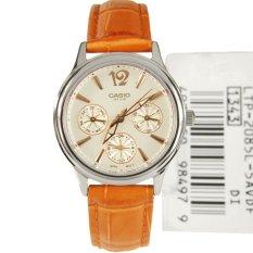 Đồng hồ nữ dây da Casio LTP-2085L-5AVDF