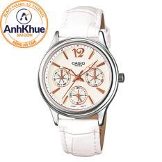 Đồng hồ nữ dây da Casio LTP-2085L-7AVDF