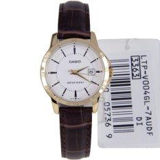 Đồng hồ nữ dây da Casio LTP-V004GL-7AUDF