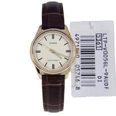 Đồng hồ nữ dây da Casio LTP-V005GL-9AUDF