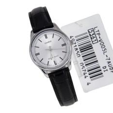 Đồng hồ nữ dây da Casio LTP-V005L-7AUDF (Đen)