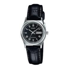 Đồng hồ nữ dây da Casio LTP-V006L-1BUDF (Đen)